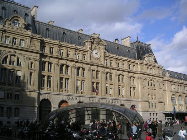 Reservation Taxi Gare Saint-Lazare