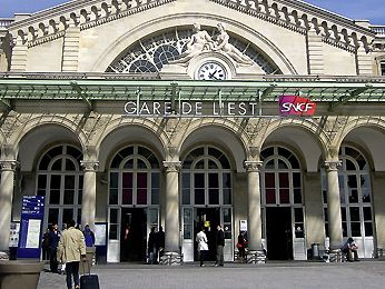 Reservation Taxi Gare de l'Est Siège bébé